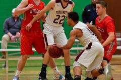 CIAC Boys Basketball : Torrington 58 vs. Wolcott 56 - Photo #217