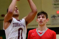 CIAC Boys Basketball : Torrington 58 vs. Wolcott 56 - Photo #232