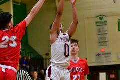CIAC Boys Basketball: Torrington 58 vs. Wolcott 56 - Photo # 234