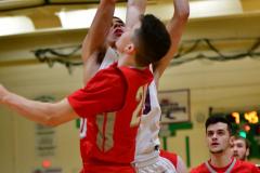 CIAC Boys Basketball: Torrington 58 vs. Wolcott 56 - Photo # 237