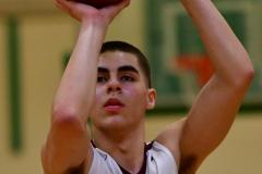 CIAC Boys Basketball : Torrington 58 vs. Wolcott 56 - Photo #249