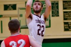 CIAC Boys Basketball: Torrington 58 vs. Wolcott 56 - Photo # 256