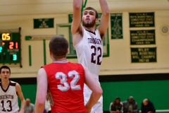 CIAC Boys Basketball: Torrington 58 vs. Wolcott 56 - Photo # 257