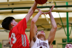 CIAC Boys Basketball : Torrington 58 vs. Wolcott 56 - Photo #259