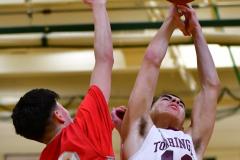 CIAC Boys Basketball : Torrington 58 vs. Wolcott 56 - Photo #260