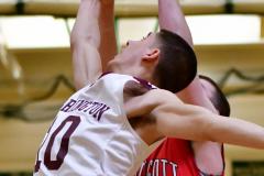 CIAC Boys Basketball : Torrington 58 vs. Wolcott 56 - Photo #262