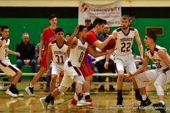 CIAC Boys Basketball: Torrington 58 vs. Wolcott 56 - Photo # 270