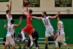 CIAC Boys Basketball : Torrington 58 vs. Wolcott 56 - Photo #281