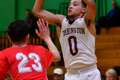 CIAC Boys Basketball : Torrington 58 vs. Wolcott 56 - Photo #285