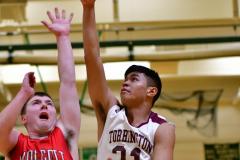 CIAC Boys Basketball : Torrington 58 vs. Wolcott 56 - Photo #287