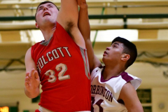 CIAC Boys Basketball : Torrington 58 vs. Wolcott 56 - Photo #288