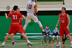 CIAC Boys Basketball : Torrington 58 vs. Wolcott 56 - Photo #289