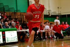 CIAC Boys Basketball : Torrington 58 vs. Wolcott 56 - Photo #291