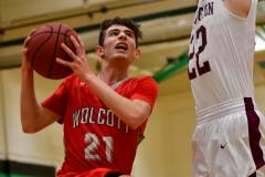 CIAC Boys Basketball: Torrington 58 vs. Wolcott 56 - Photo # 292