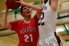 CIAC Boys Basketball : Torrington 58 vs. Wolcott 56 - Photo #293