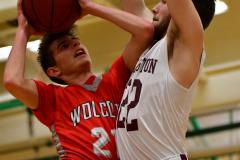 CIAC Boys Basketball : Torrington 58 vs. Wolcott 56 - Photo #294