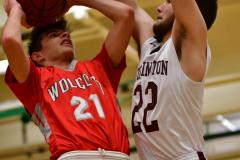 CIAC Boys Basketball : Torrington 58 vs. Wolcott 56 - Photo #295