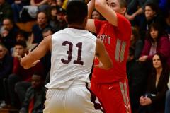 CIAC Boys Basketball : Torrington 58 vs. Wolcott 56 - Photo #297