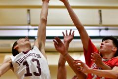 CIAC Boys Basketball : Torrington 58 vs. Wolcott 56 - Photo #301