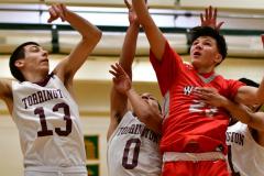 CIAC Boys Basketball : Torrington 58 vs. Wolcott 56 - Photo #303