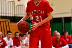CIAC Boys Basketball : Torrington 58 vs. Wolcott 56 - Photo #315