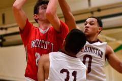 CIAC Boys Basketball: Torrington 58 vs. Wolcott 56 - Photo # 320
