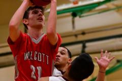 CIAC Boys Basketball : Torrington 58 vs. Wolcott 56 - Photo #321