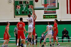 CIAC Boys Basketball : Torrington 58 vs. Wolcott 56 - Photo #324