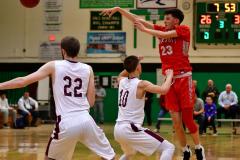 CIAC Boys Basketball : Torrington 58 vs. Wolcott 56 - Photo #351
