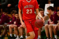 CIAC Boys Basketball : Torrington 58 vs. Wolcott 56 - Photo #359