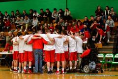 CIAC Boys Basketball : Torrington 58 vs. Wolcott 56 - Photo #362