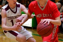 CIAC Boys Basketball : Torrington 58 vs. Wolcott 56 - Photo #365