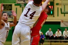 CIAC Boys Basketball : Torrington 58 vs. Wolcott 56 - Photo #368