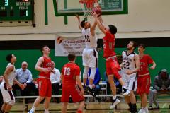 CIAC Boys Basketball : Torrington 58 vs. Wolcott 56 - Photo #374