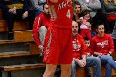 CIAC Boys Basketball : Torrington 58 vs. Wolcott 56 - Photo #379