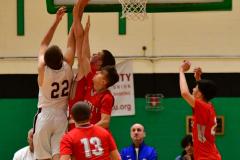 CIAC Boys Basketball : Torrington 58 vs. Wolcott 56 - Photo #383