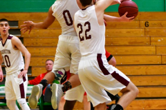 CIAC Boys Basketball : Torrington 58 vs. Wolcott 56 - Photo #392