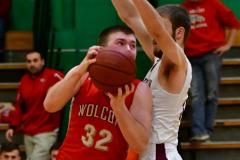 CIAC Boys Basketball : Torrington 58 vs. Wolcott 56 - Photo #395