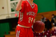 CIAC Boys Basketball : Torrington 58 vs. Wolcott 56 - Photo #404