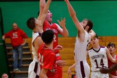 CIAC Boys Basketball : Torrington 58 vs. Wolcott 56 - Photo #421