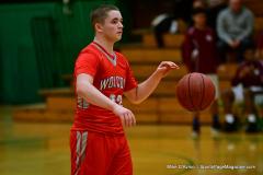 CIAC Boys Basketball : Torrington 58 vs. Wolcott 56 - Photo #437