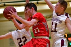 CIAC Boys Basketball : Torrington 58 vs. Wolcott 56 - Photo #442