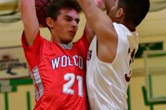 CIAC Boys Basketball : Torrington 58 vs. Wolcott 56 - Photo #448