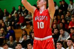 CIAC Boys Basketball : Torrington 58 vs. Wolcott 56 - Photo #450