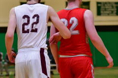 CIAC Boys Basketball : Torrington 58 vs. Wolcott 56 - Photo #455