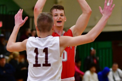 CIAC Boys Basketball : Torrington 58 vs. Wolcott 56 - Photo #456