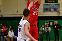 CIAC Boys Basketball : Torrington 58 vs. Wolcott 56 - Photo #458