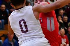 CIAC Boys Basketball : Torrington 58 vs. Wolcott 56 - Photo #461