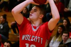 CIAC Boys Basketball : Torrington 58 vs. Wolcott 56 - Photo #468