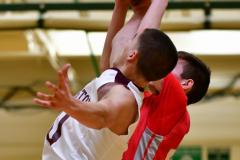 CIAC Boys Basketball : Torrington 58 vs. Wolcott 56 - Photo #480